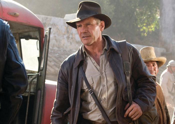 Indiana Jones auf der Suche nach dem Kristallschädel