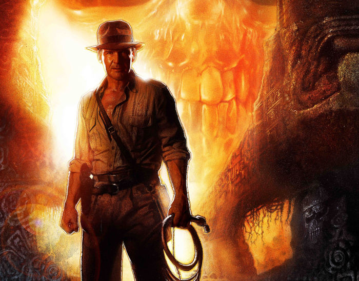 Indiana Jones in Aktion