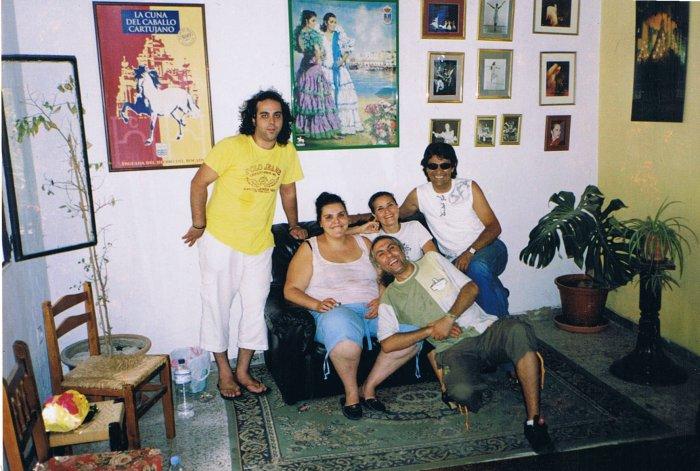 María Bermudez und ihre Compagnie
