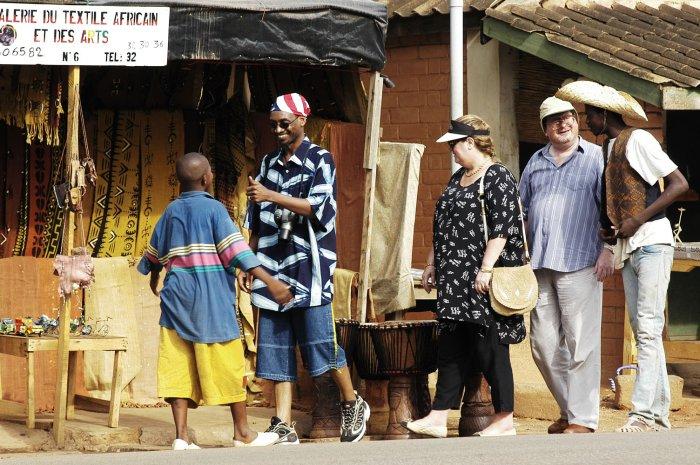 Textilgeschäfte auf afrikanisch