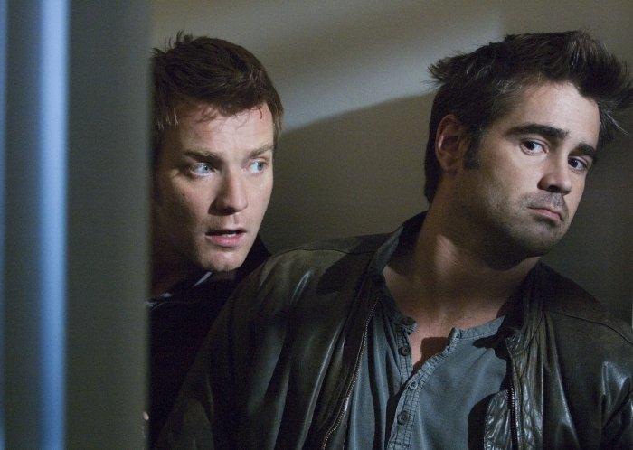 Ian und Terry baldowern Burns's Wohnung aus
