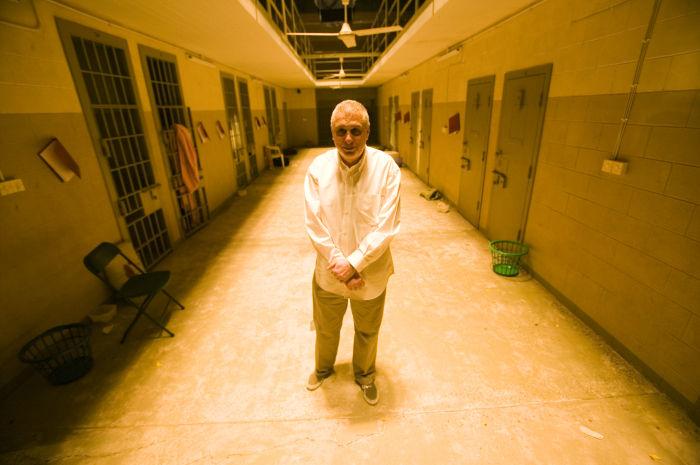 In Abu-Ghraib (Spielszene)