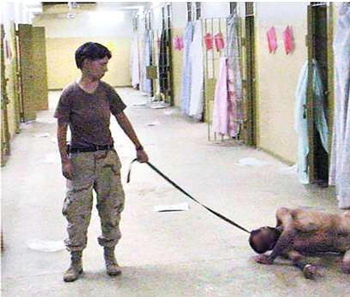 Eines der Skandal-Fotos aus dem Gefängnis in Bagdad