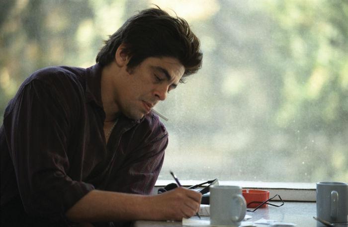 Oscar-Preisträger Benicio Del Toro als Drogensüchtiger