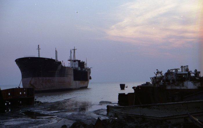 Die Abwrack-Werft PHP in Chittagong