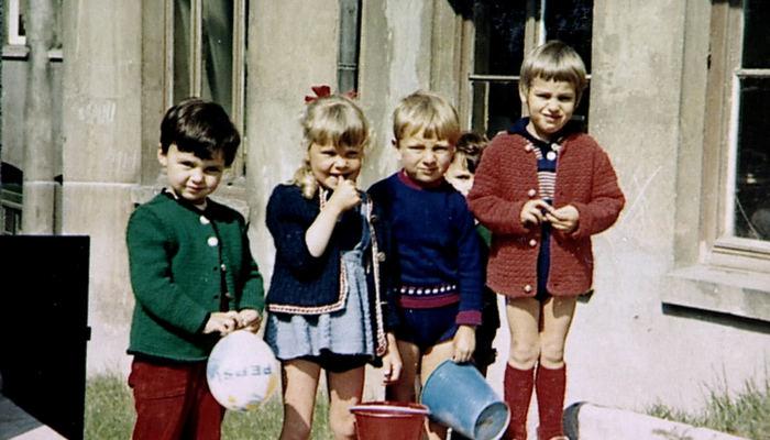 Die Kinder Precht in den 1960er Jahren