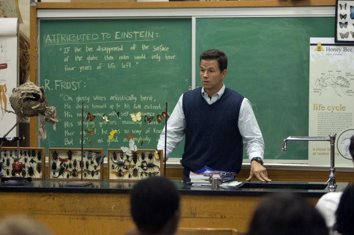 Mark Wahlberg als Bio-Lehrer