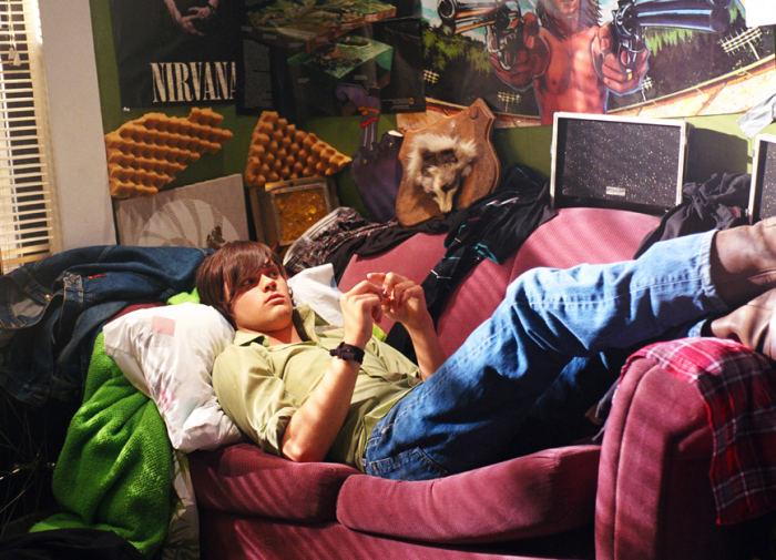 Rodeo (Patrick White) in seinem Zimmer