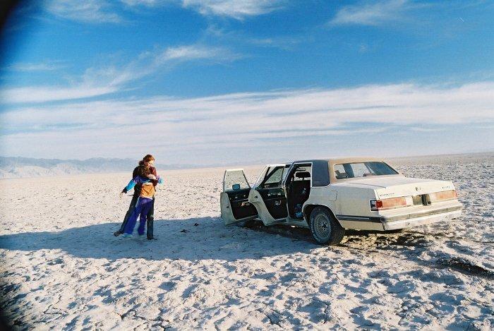 Halt in der Wüste
