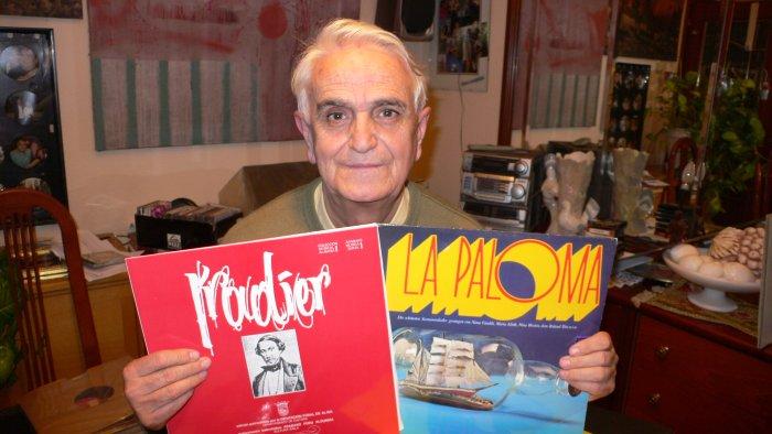 Primitivo Langarica mit zwei LP