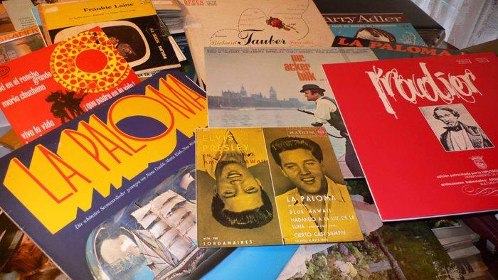 Schallplatten aus aller Welt