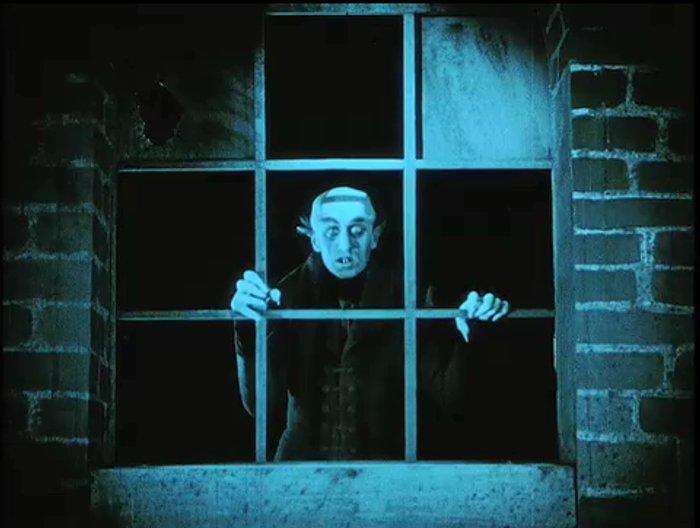 Max Schreck in Murnaus <i>Nosferatu</i>