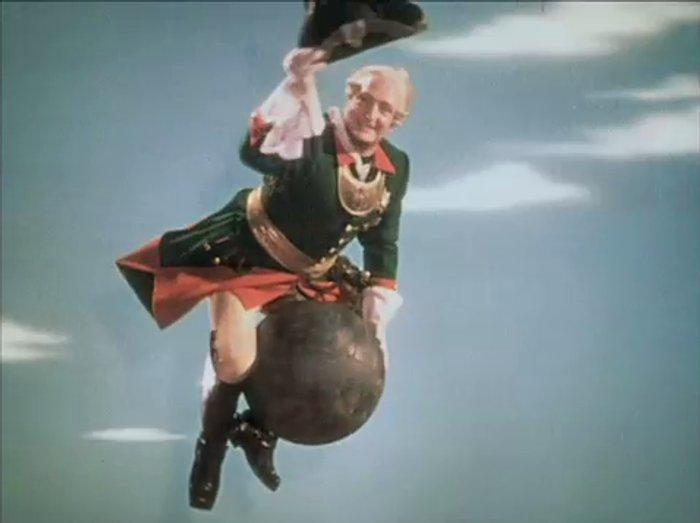 Hans Albers als <i>Baron Münchhausen</i>