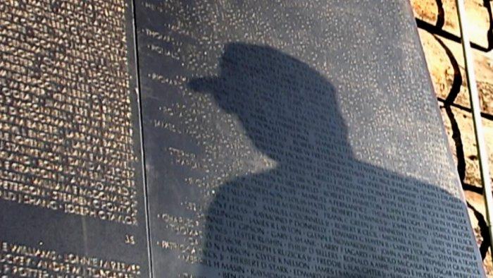 Tafel am Vietnam Veterans Memorial