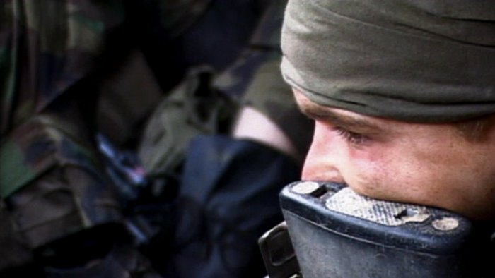 Ein US-Soldat in Kuwait
