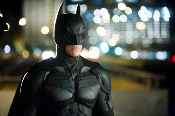 Batman in den Straßen von Gotham-City