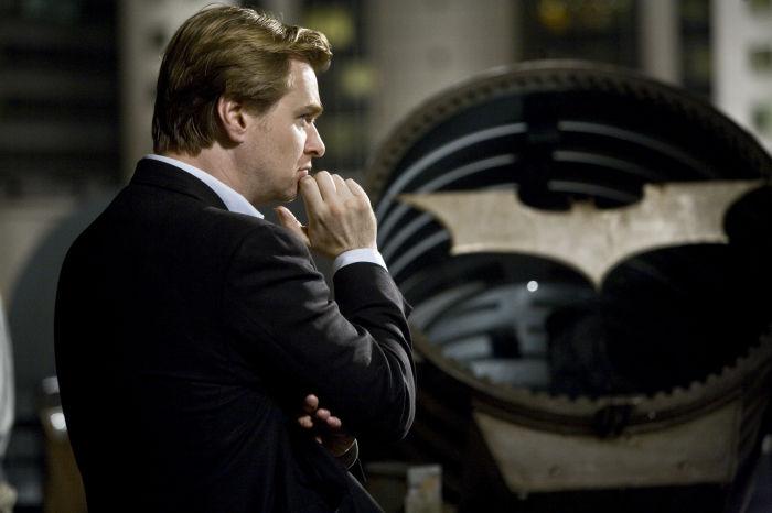 Beim Dreh: Regisseur Christopher Nolan