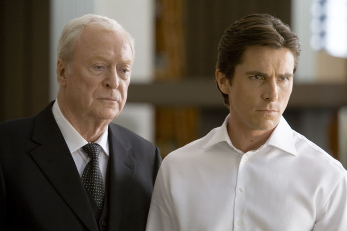 Michael Caine als Batmans Butler Alfred Pennyworth