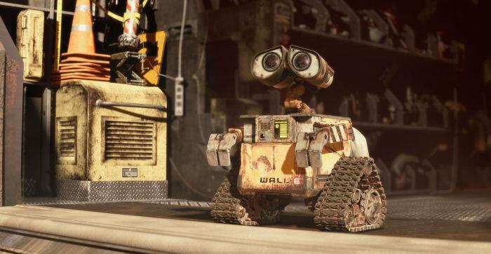 Räumt die Erde auf: WALL E
