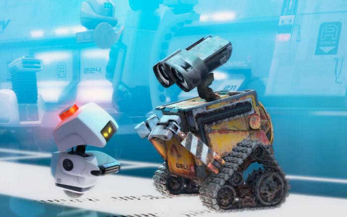 WALL E trifft auf ein 700 Jahre neueres Modell seiner selbst