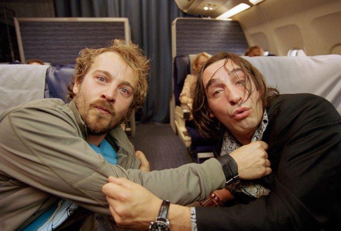 Zwei Kollegen im Drogenrausch