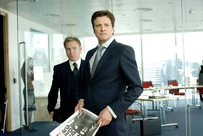 Ministers Geoffrey Thwaites (Colin Firth) hat St. Trinian auf dem Kieker