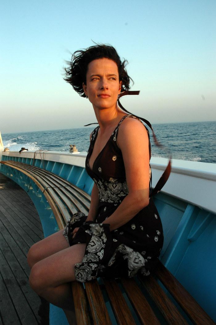 Kann auch mit 42 noch Köpfe verdrehen: Claudia Michelsen als Christine