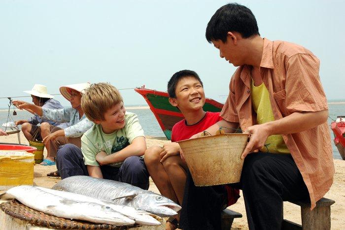 Das Dorf Adong lebt vom Fischfang