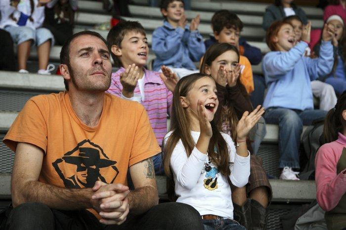 Stefano mit Nichte Eleonora (Chiara Bucchi)