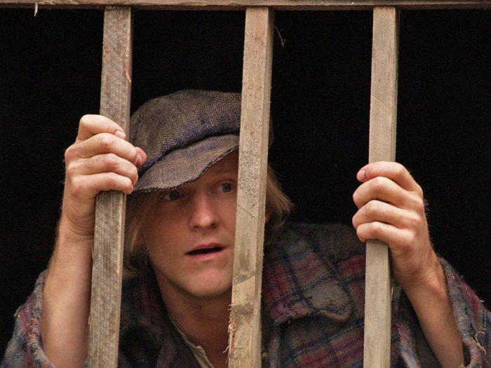Schon der junge Hias (Maximilian Brückner) muss hinter Gitter
