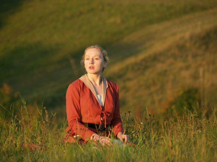 Mathilde Danner (Brigitte Hobmeier) hat Hiasls Herz erobert