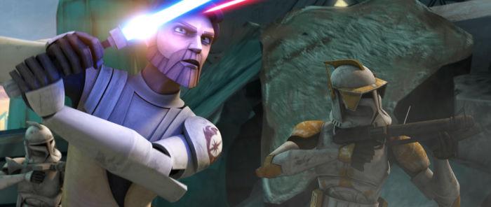 Obi-Wan im Gefecht