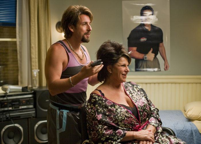Macht auch als Friseur eine gute Figur: Zohan