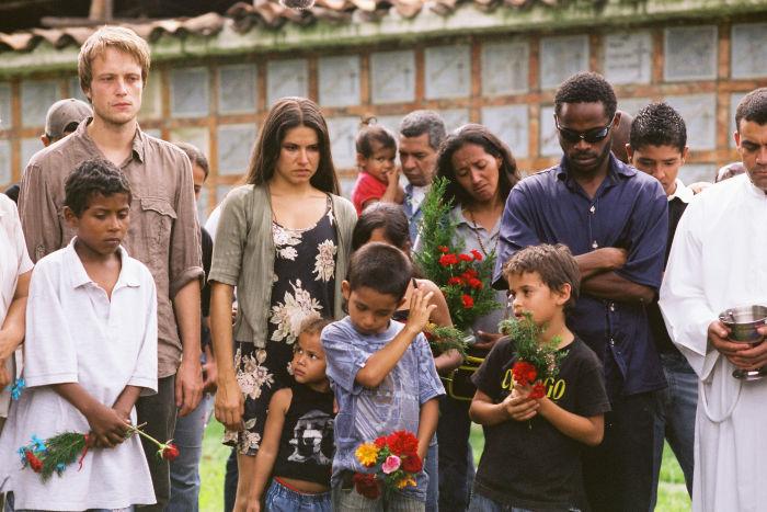 Marc und seine neuen Freunde in Kolumbien