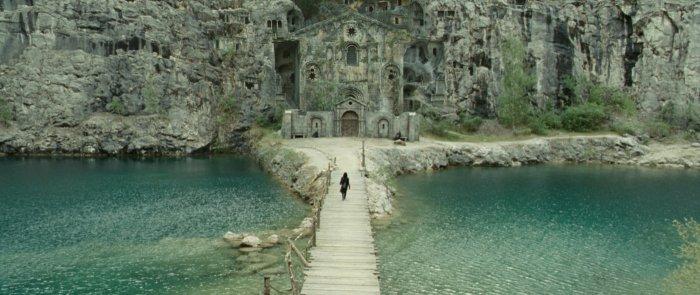 In diesem Kloster wuchs Aurora heran