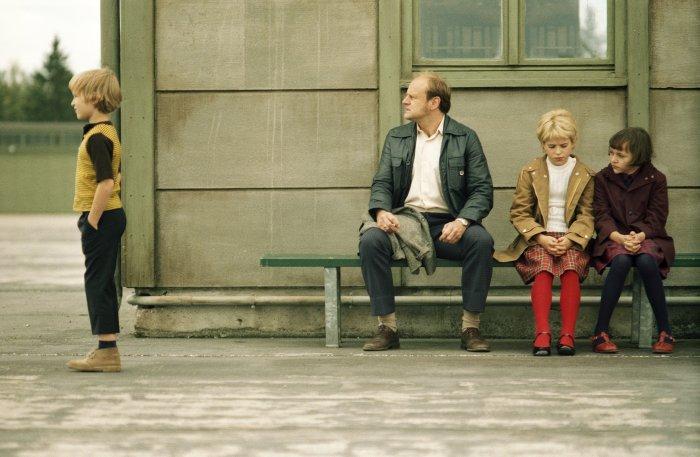 Papa Striesow mit den Kindern