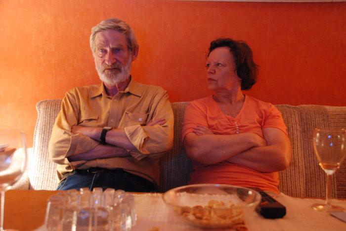 Inge (Ursula Werner) und Werner (Horst Rehberg) haben sich auseinandergelebt