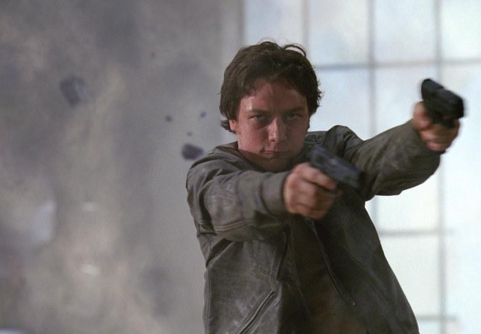 James McAvoy spielt Wesley Gibson