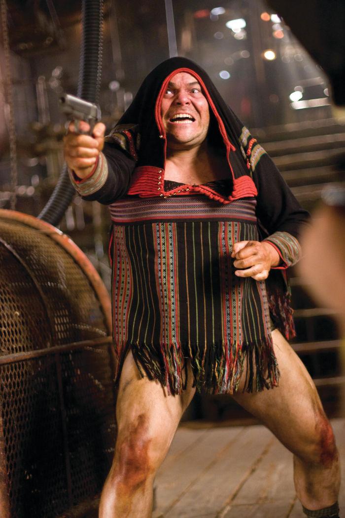Jack Black im Kampfgetümmel