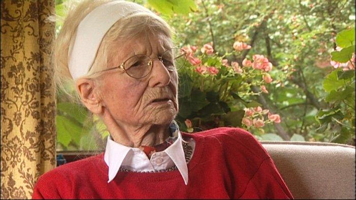 Ehrhardts Schwägerin Hilde Nielsen