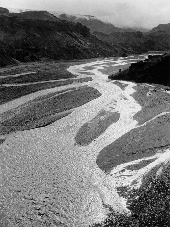 Ein Fluss im isländischen Hinterland