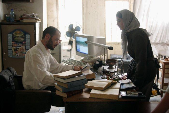 In der Kanzlei von Salmas Anwalt