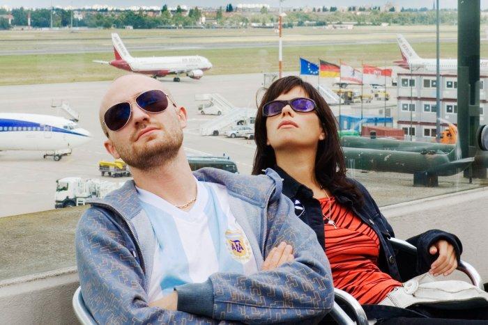 Ickarus und Mathilde warten auf den nächsten Flug