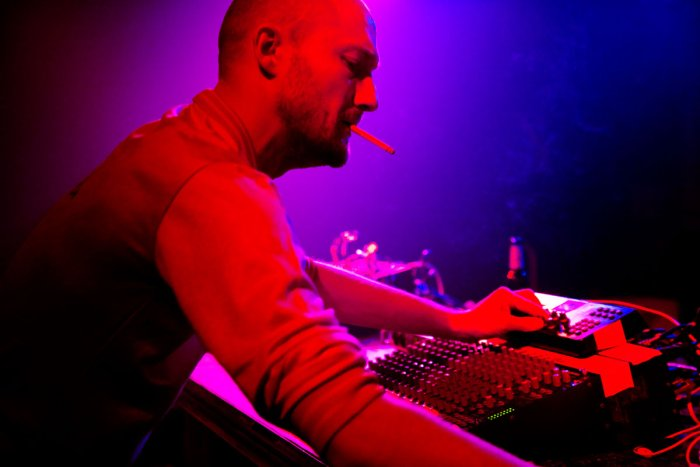 DJ Ickarus in voller Aktion