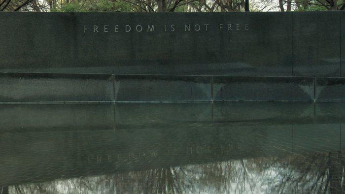 Freiheit ist nicht umsonst
