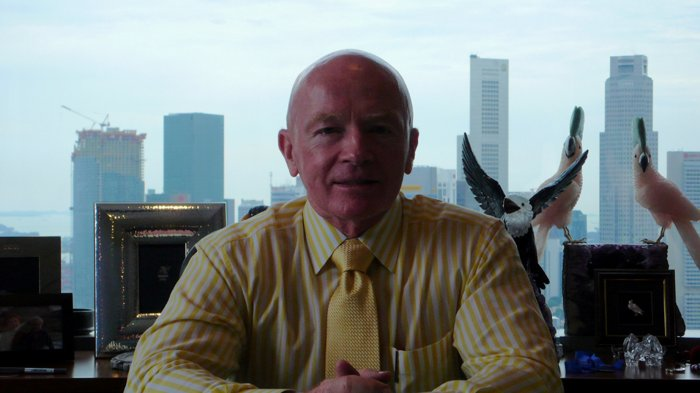 Investmentmanager Mark Mobius
