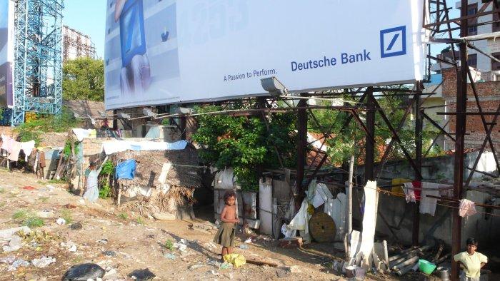 Die Deutsche Bank ist auch in Indien aktiv
