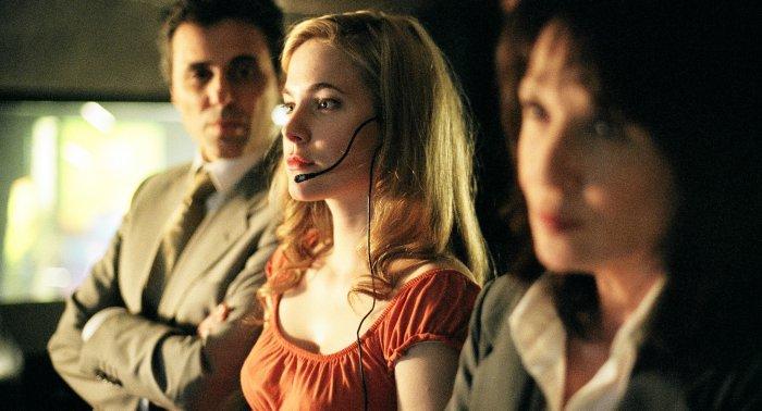 Didier, Claire und Francoise beim Abhören