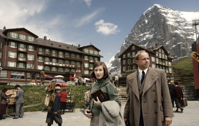 Luise und Arau treffen in Scheidegg ein