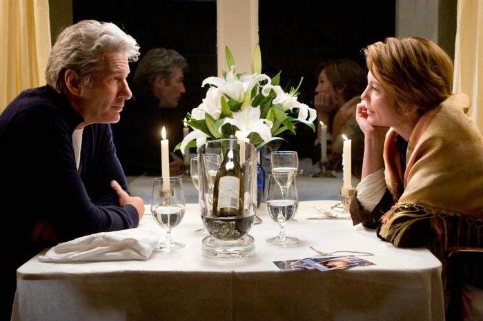 Richard Gere und Diane Lane als Paul und Adrienne